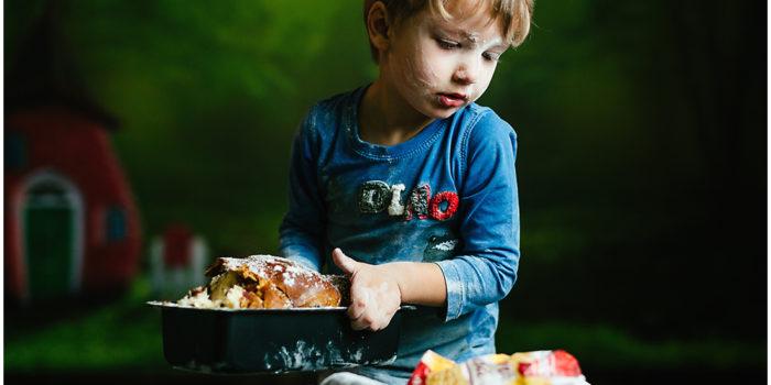 Sesiune foto de Paște pentru copii