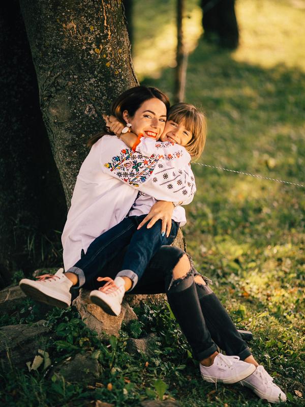 Georgia, Marian și Iuliana sesiune foto de familie