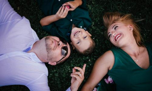 Sesiune foto de familie cu Rareș